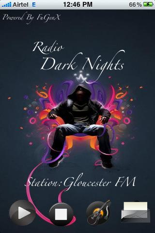 Dark Night music app
