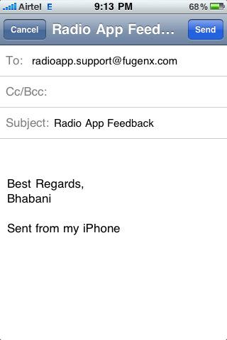 radio iphone app