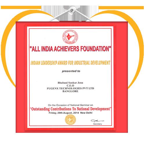 All-India-Achivers-Foundation-Award-FuGenX