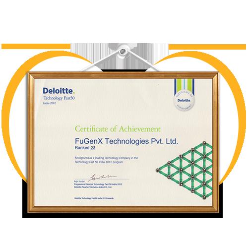 FuGenX-Wins-Deloitte-Technology-Fast-50-India-2016-Award-Ranked-23