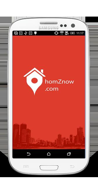Homznow-mobile app development