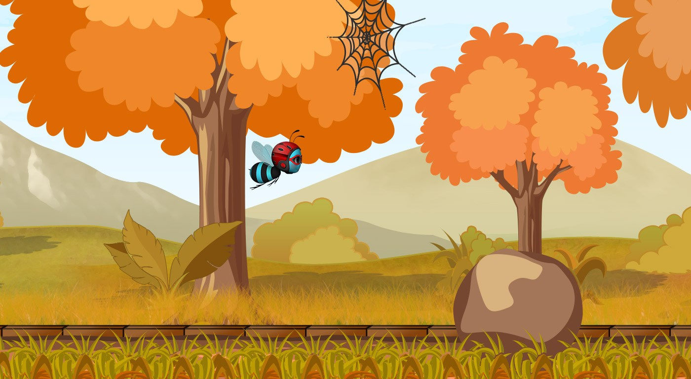 Mr-Bee-3d-game-development-india