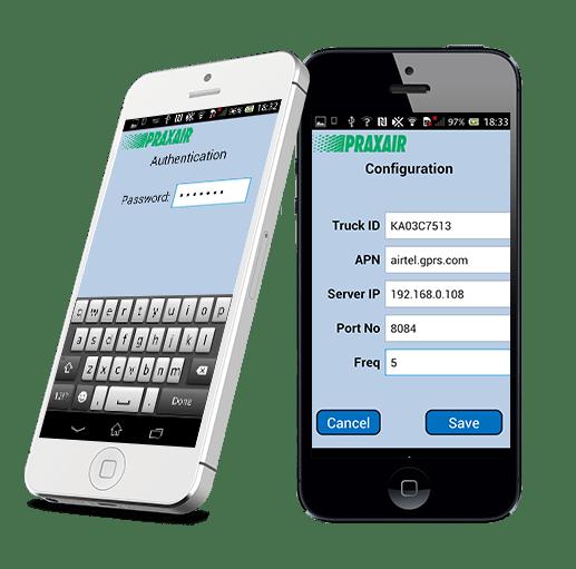 Praxair App Development