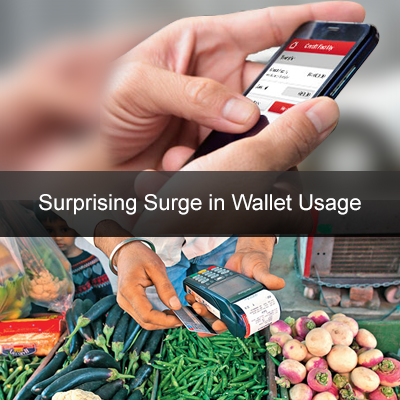 Surprising Surge in Wallet Usage – An Outstanding Impact