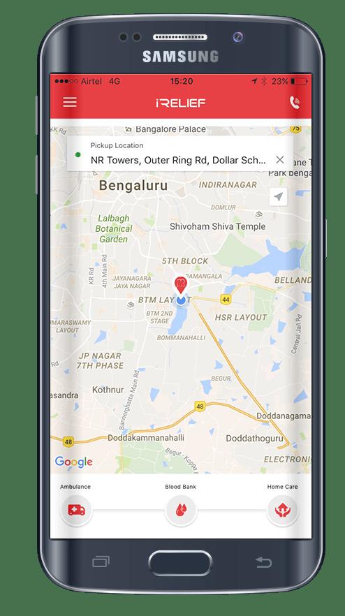 iRelief-healthcare-services-app1