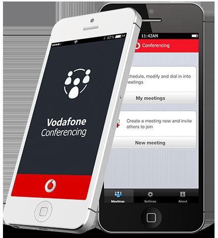 vodafone-conferencing-application